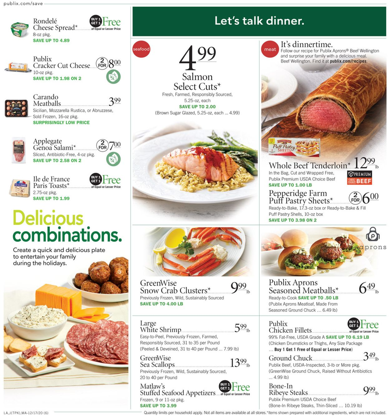 Publix Christmas Ad 2021 Georgia Publix Christmas Ad 2020 Current Weekly Ad 12 17 12 24 2020 6 Frequent Ads Com