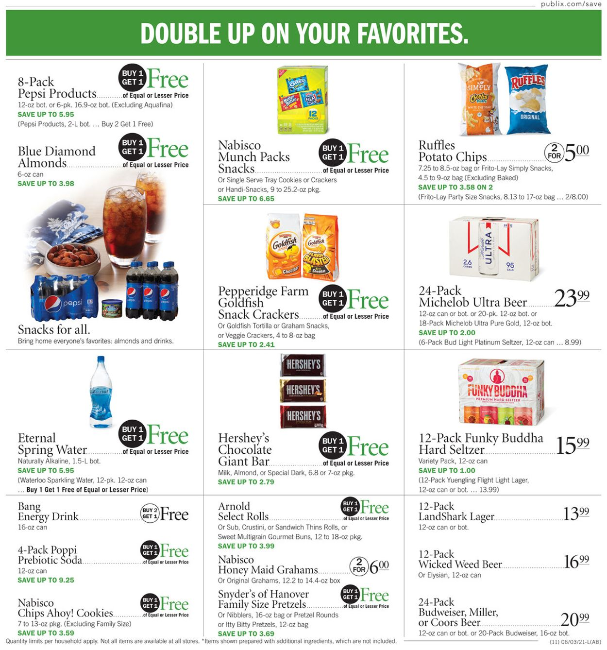 Publix Current weekly ad 06/10 - 06/16/2021 [12