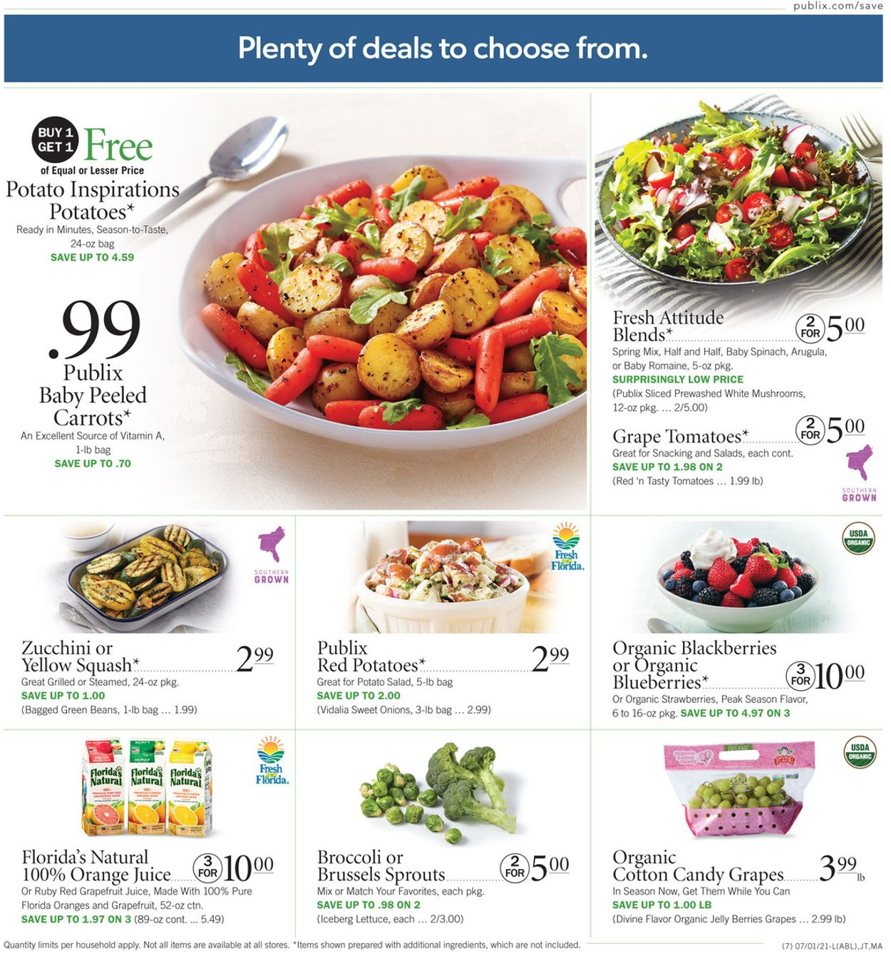 Publix Current weekly ad 06/17 - 06/23/2021 [6] - frequent