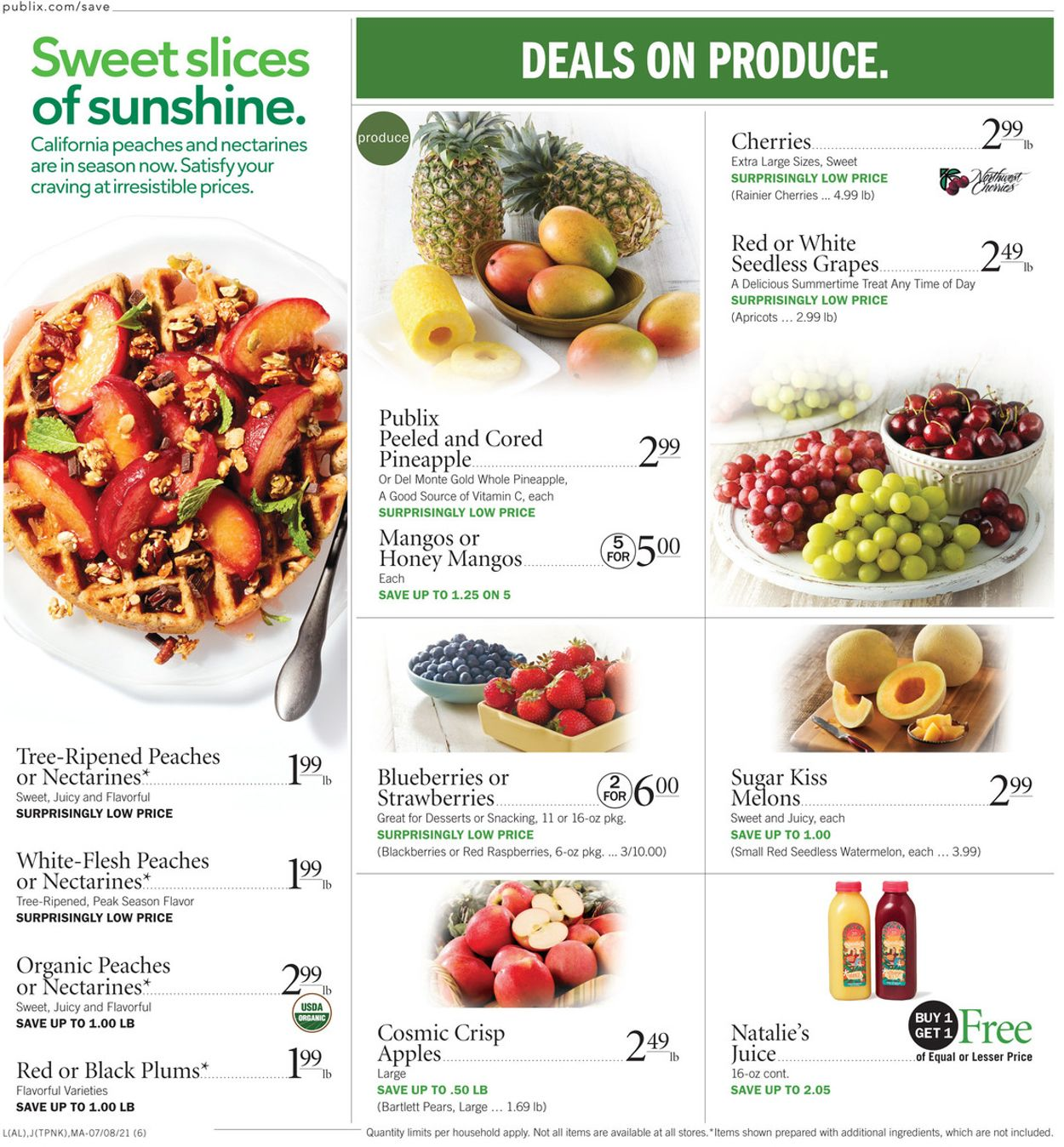 Publix Current weekly ad 07/01 - 07/07/2021 [6] - frequent