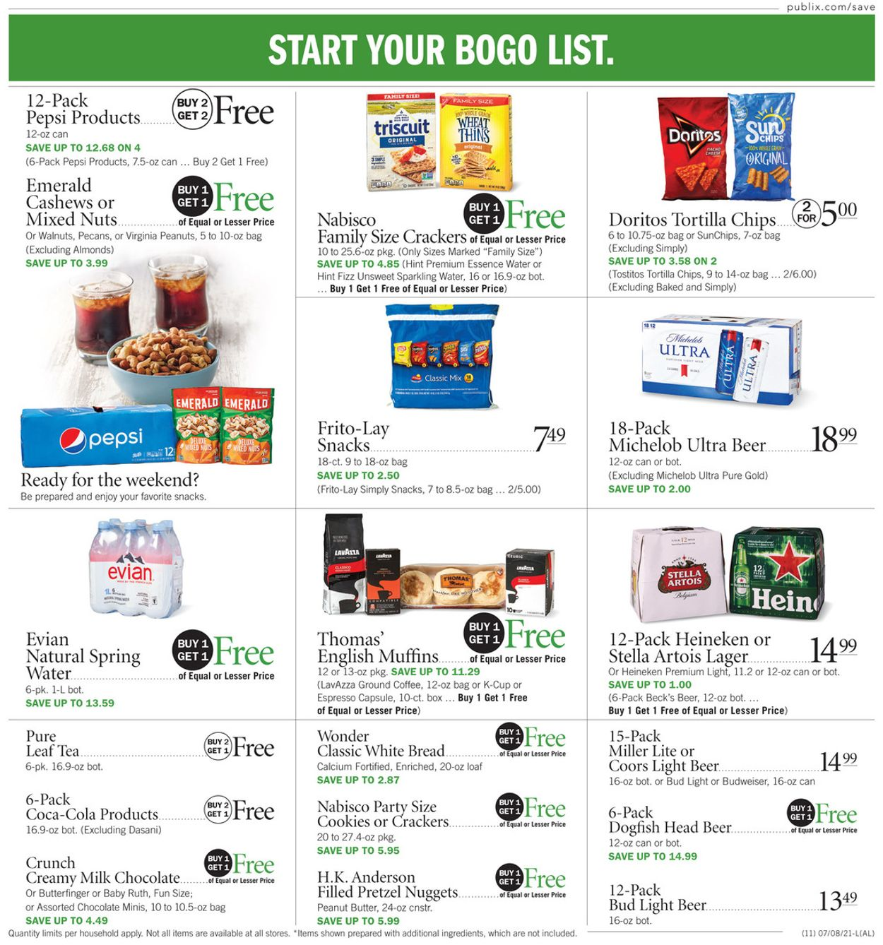 Publix Current weekly ad 05/14 - 09/16/2020 [10