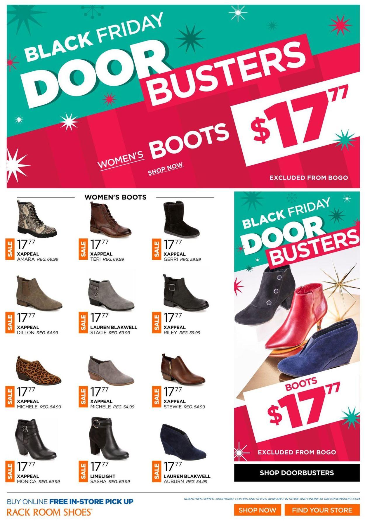 Rack Room Shoes - Black Friday Ad Sale