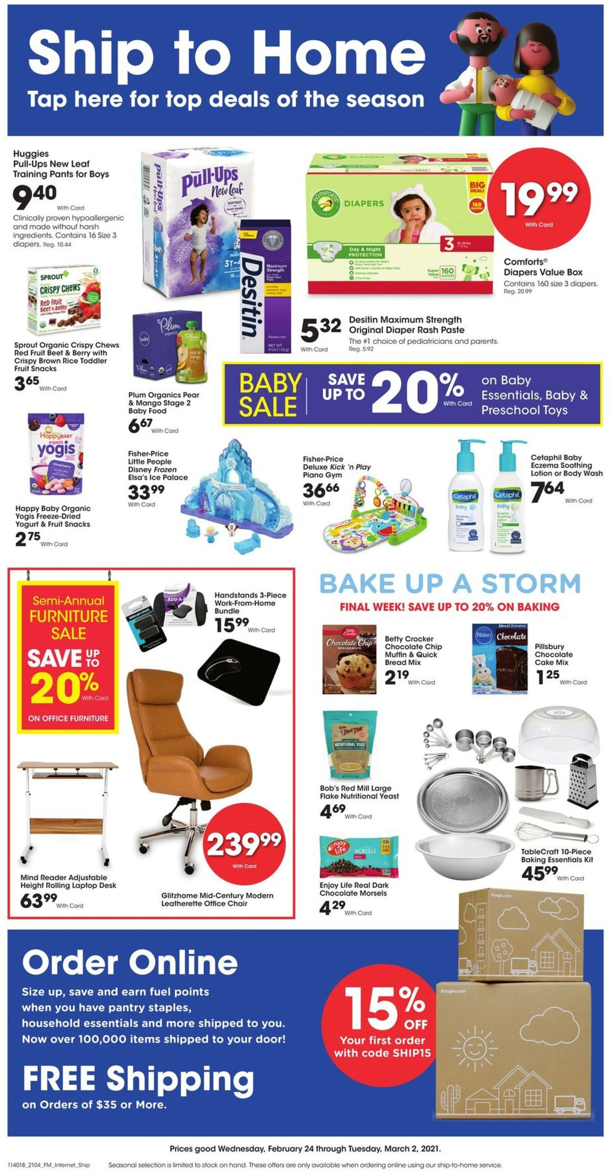 Catalogue Ralphs from 02/24/2021