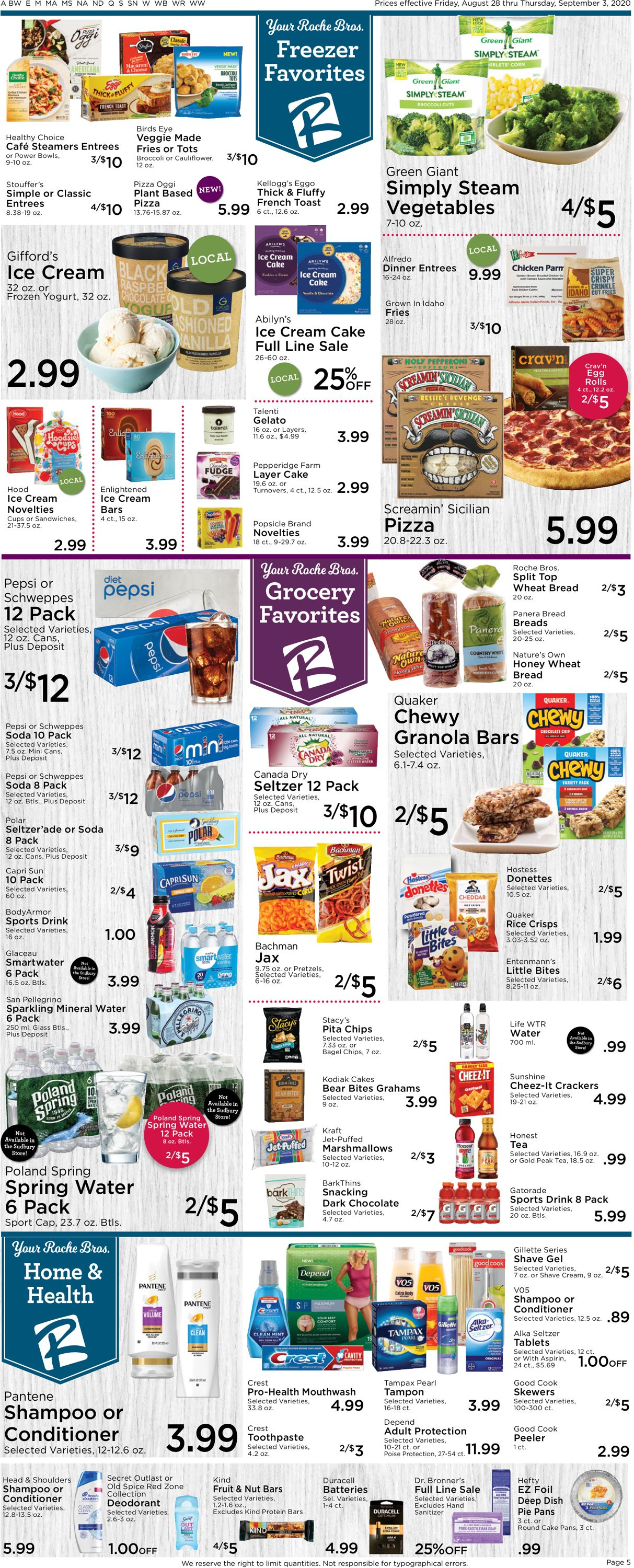 Catalogue Roche Bros. Supermarkets from 08/28/2020