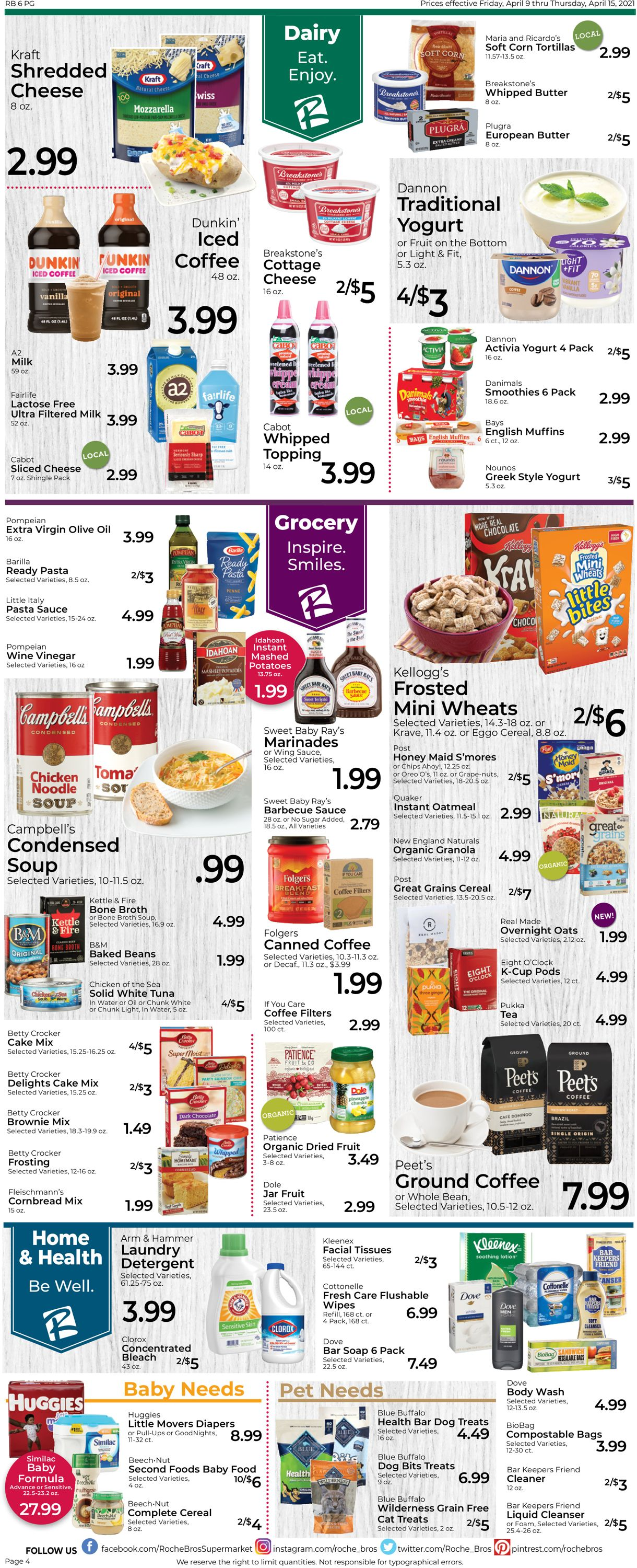Catalogue Roche Bros. Supermarkets from 04/09/2021