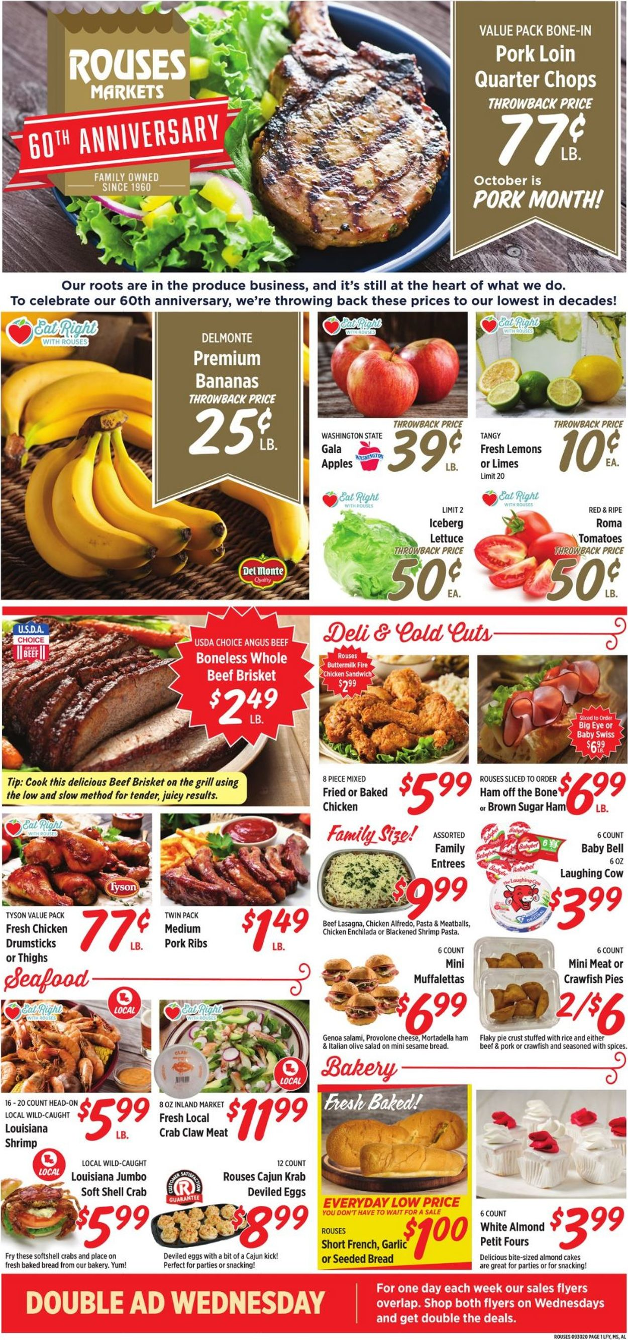 Is Rouses Louisiana Open On Christmas Day 2020 Rouses Current weekly ad 09/30   10/07/2020   frequent ads.com