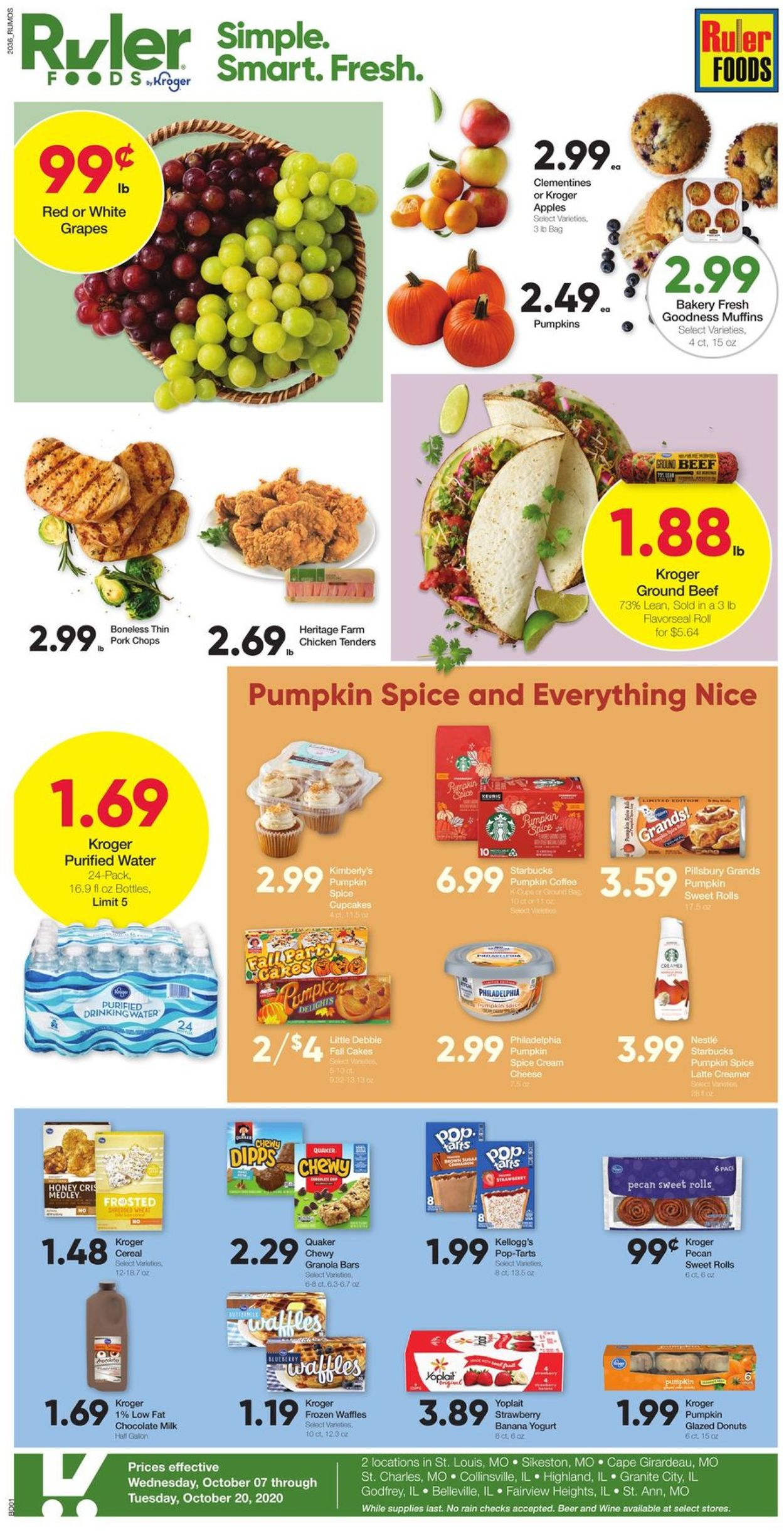 Ruler Foods Current Weekly Ad 10 07 10 20 2020 Frequent Ads Com