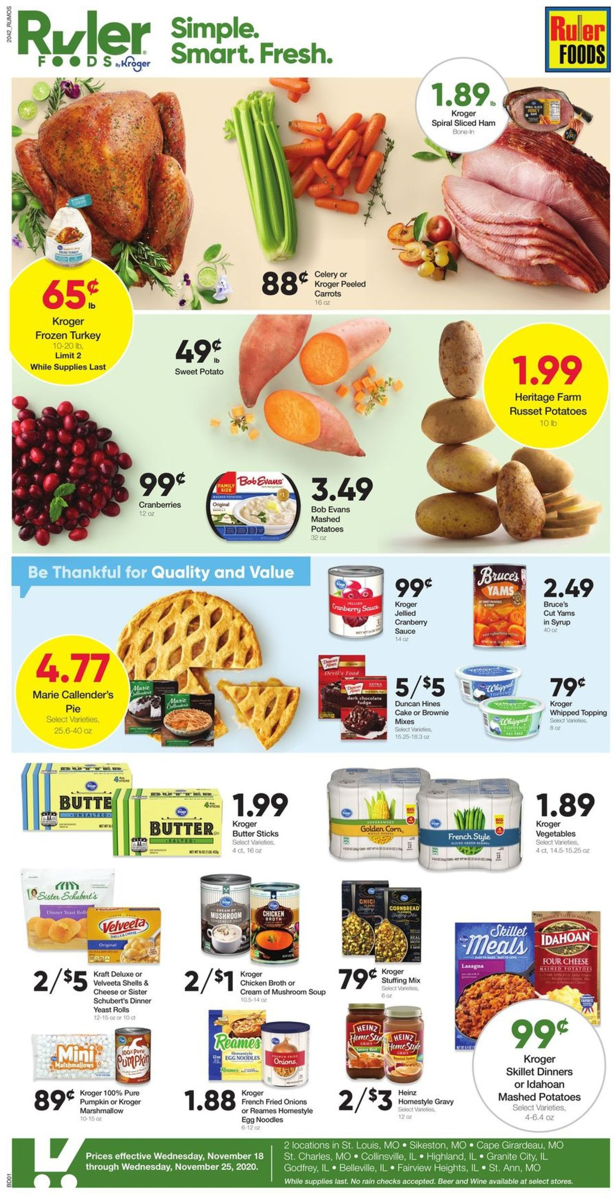 Ruler Foods Current Weekly Ad 11 18 11 25 2020 Frequent Ads Com