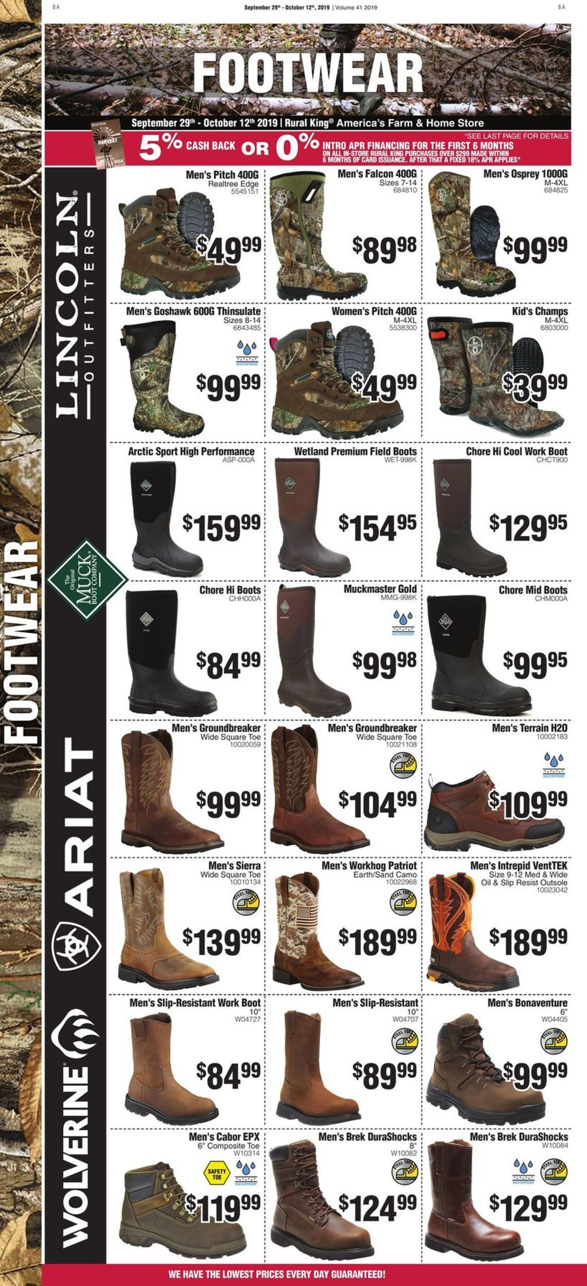 Rural King Current weekly ad 09/29 - 10