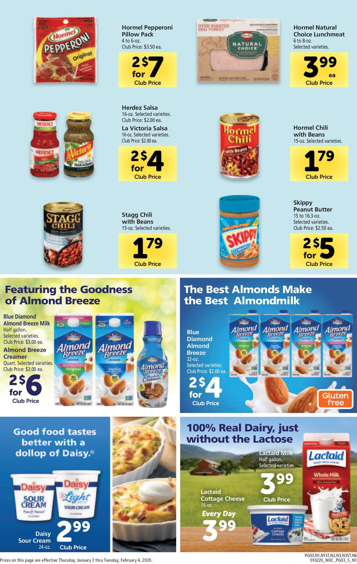 Safeway Current weekly ad 01/02 - 02/04/2020 [3 ...
