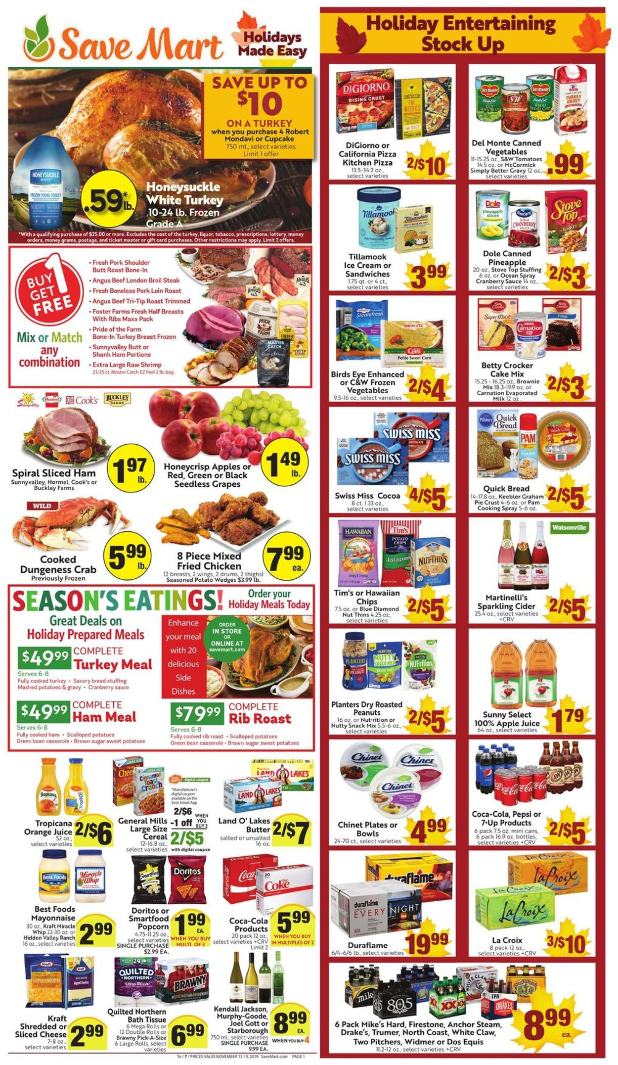Catalogue Save Mart from 11/13/2019