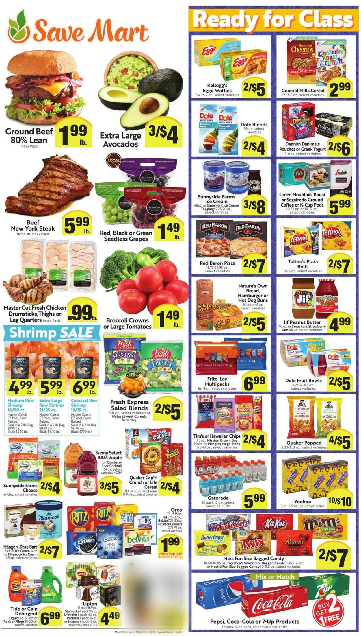 Save Mart Christmas Trees 2020 Save Mart Current weekly ad 08/05   08/11/2020   frequent ads.com