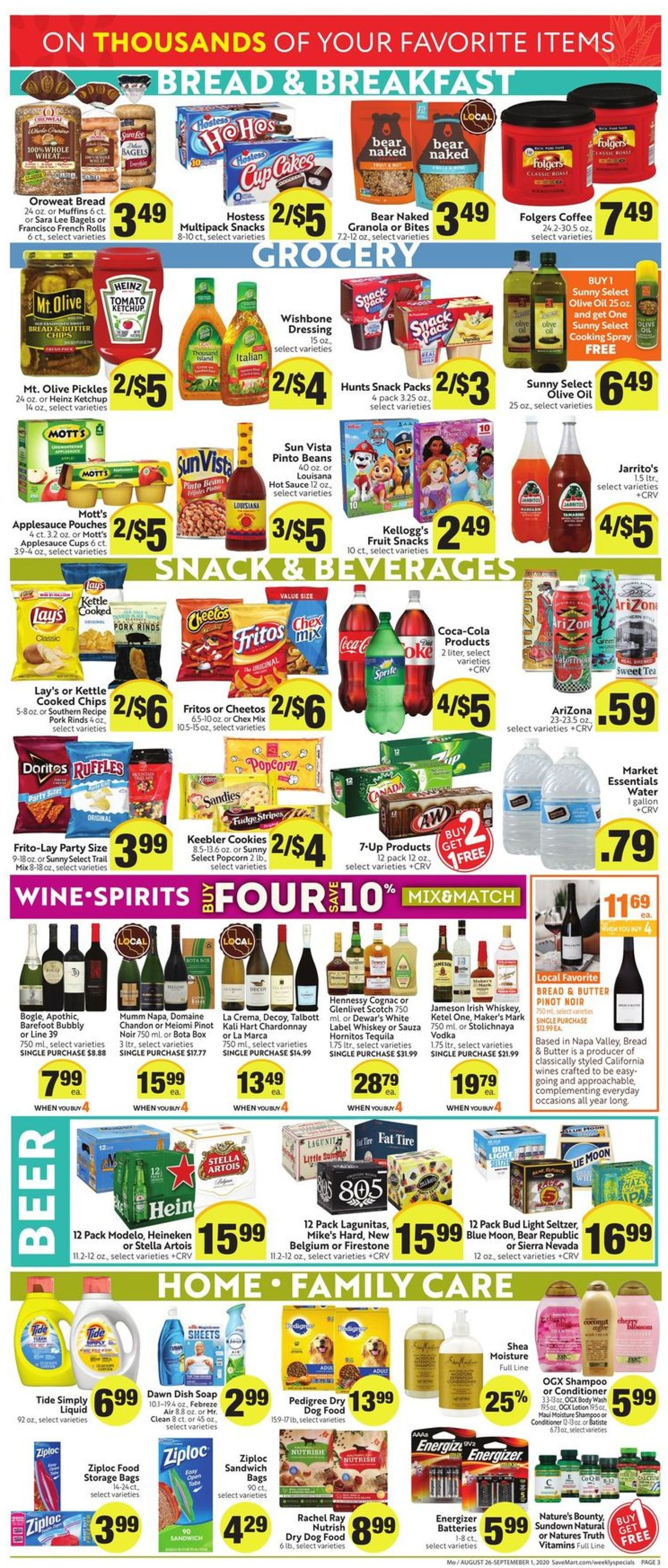 Save Mart Christmas Trees 2020 Save Mart Current weekly ad 08/26   09/01/2020 [3]   frequent ads.com