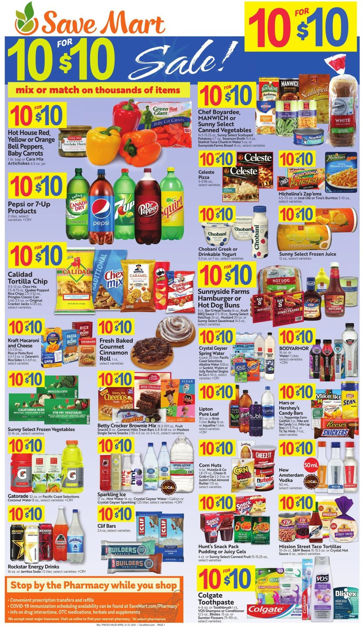 Catalogue Save Mart from 04/21/2021