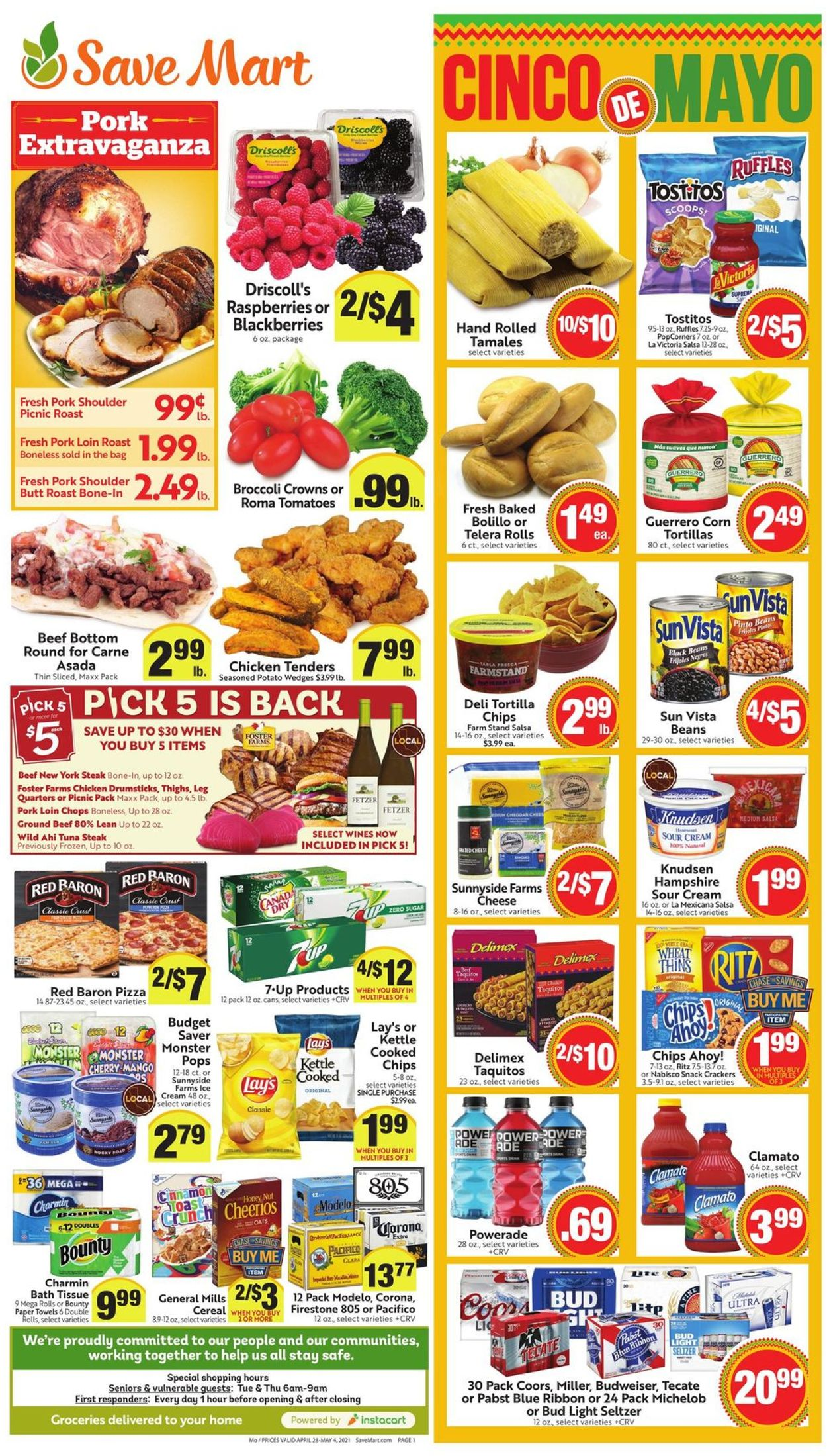 Catalogue Save Mart from 04/28/2021