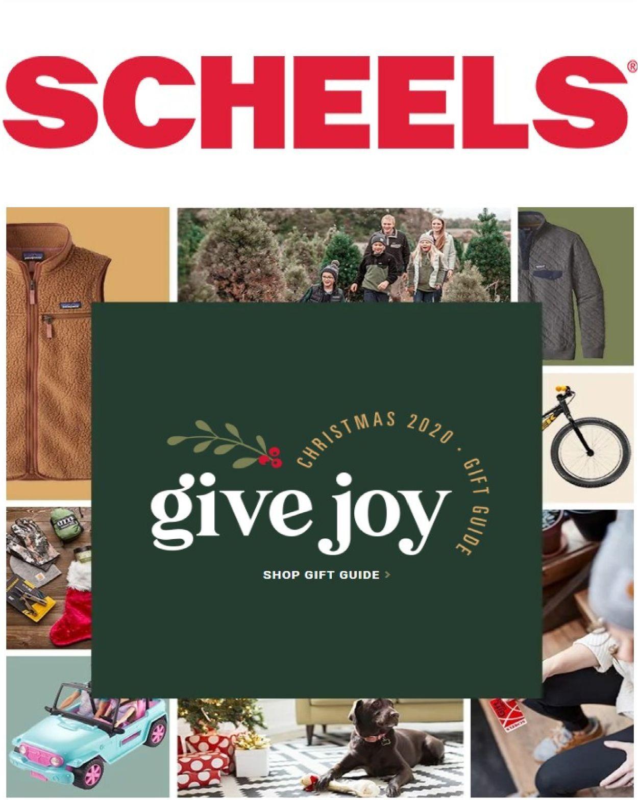Catalogue Scheels Christmas 2020 from 12/03/2020