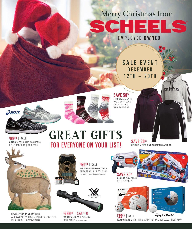 Catalogue Scheels Sale 2020 from 12/12/2020