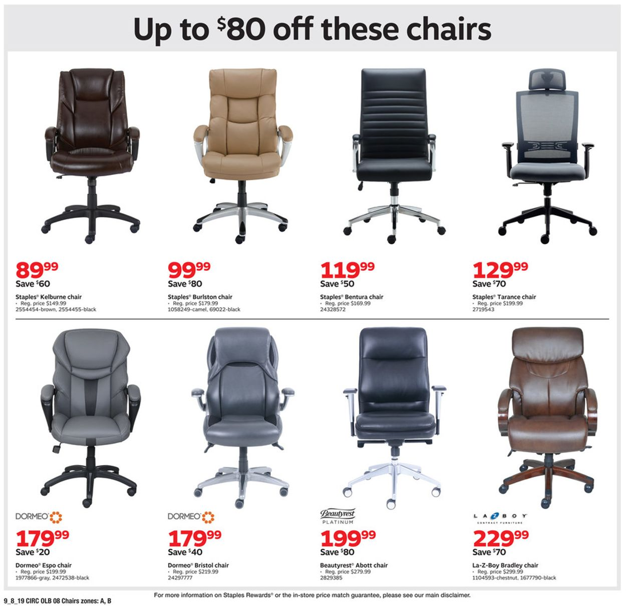 Awesome Staples Current Weekly Ad 09 08 09 14 2019 16 Frequent Machost Co Dining Chair Design Ideas Machostcouk