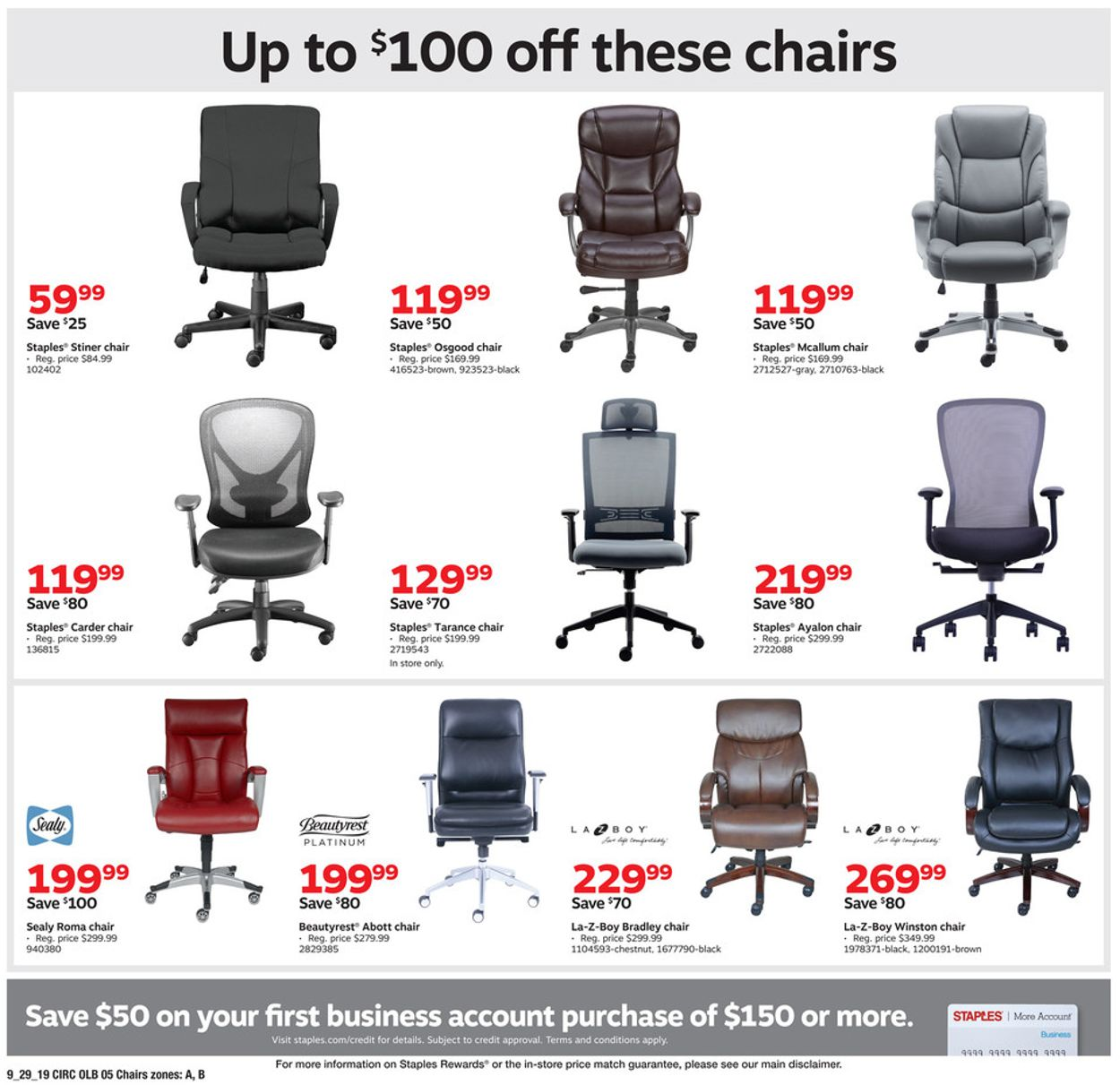 Staples Current weekly ad 339/339 - 339/339/339 [39] - frequent-ads.com