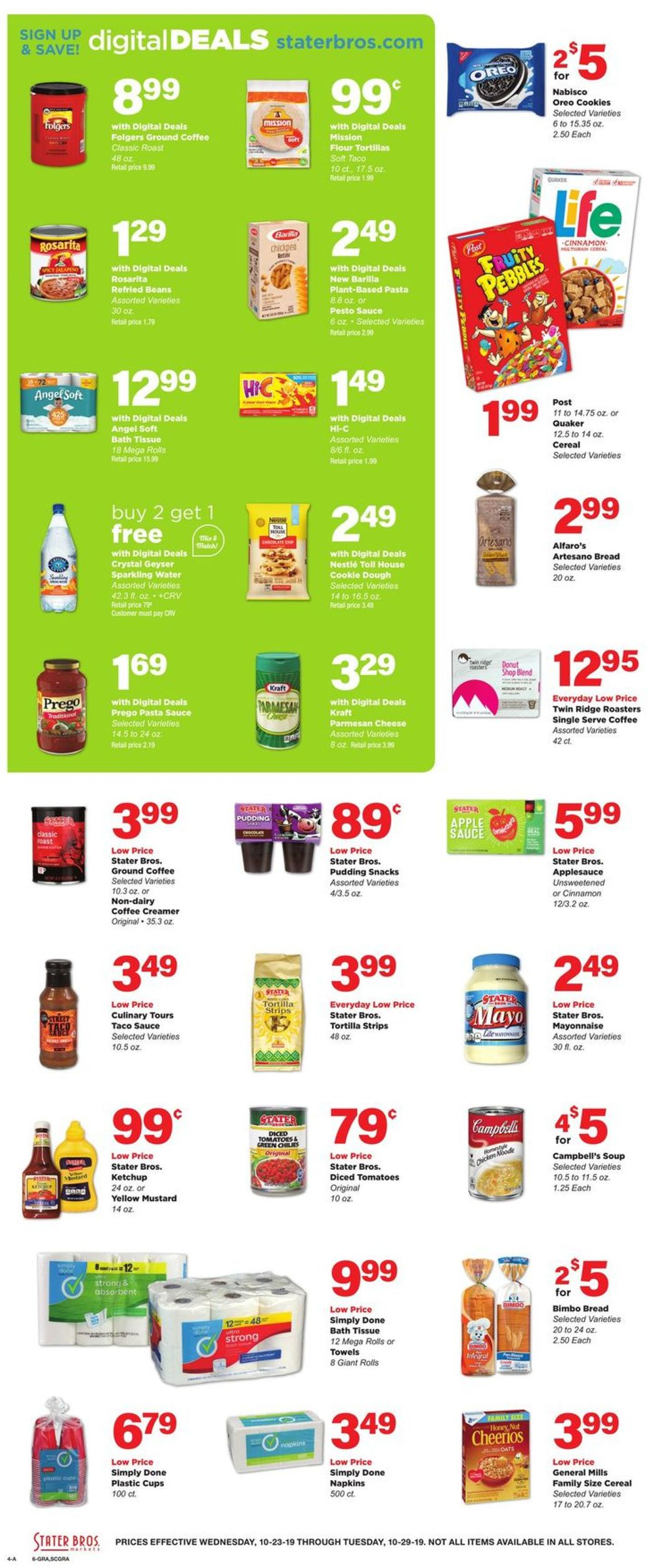Stater Bros Current Weekly Ad 10 23 10 29 2019 4 Frequent Ads Com