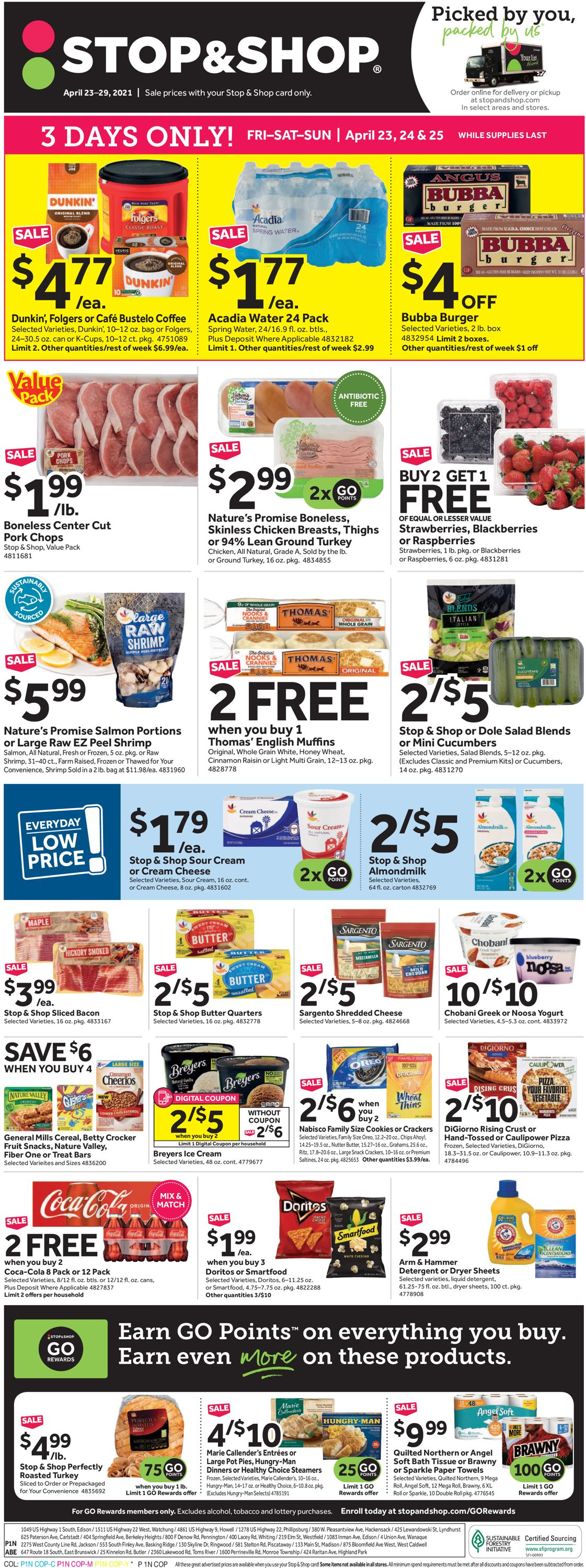 Catalogue Stop and Shop from 04/23/2021