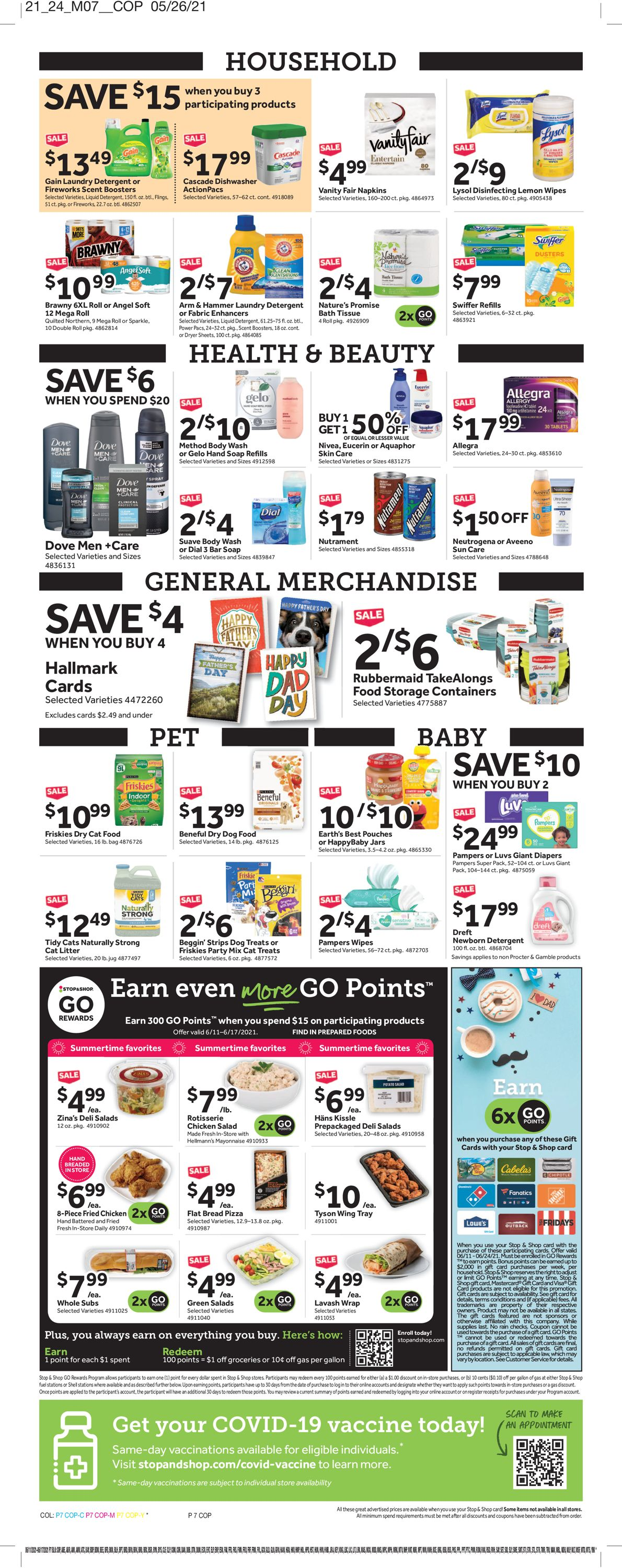 Catalogue Stop and Shop from 06/11/2021