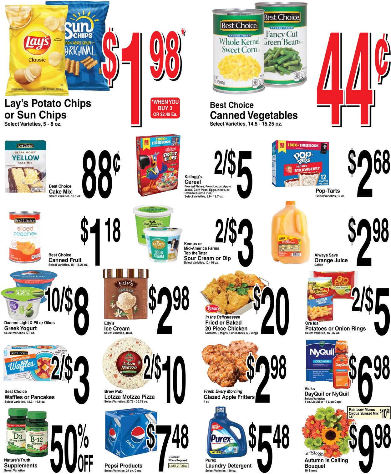 Catalogue Super Saver from 09/22/2021