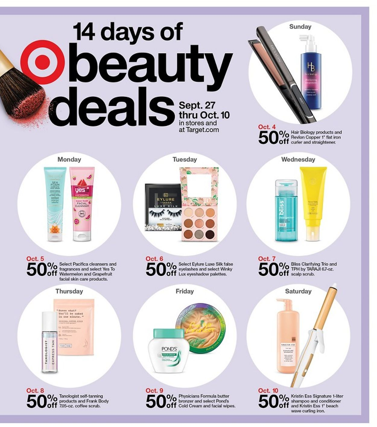 Target Current Weekly Ad 09 27 10 10 2020 3 Frequent Ads Com