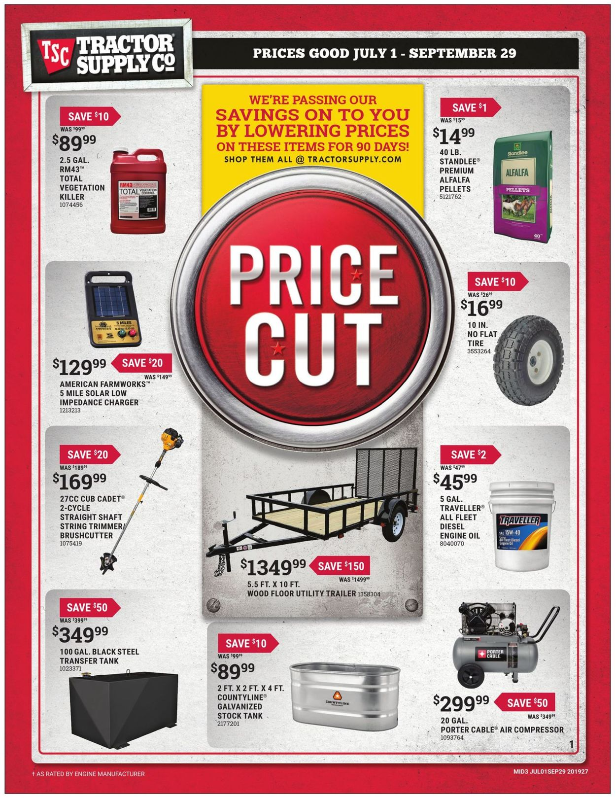 Tractor Supply Current weekly ad 07/01 - 09/29/2019 - frequent-ads com