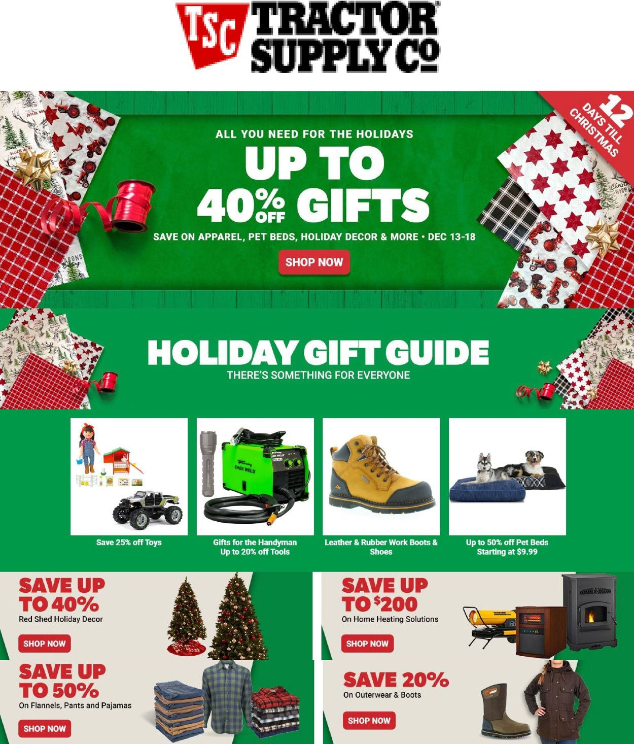 Tractor Supply Holiday Gift Guide 32 Current weekly ad 32/32 ...
