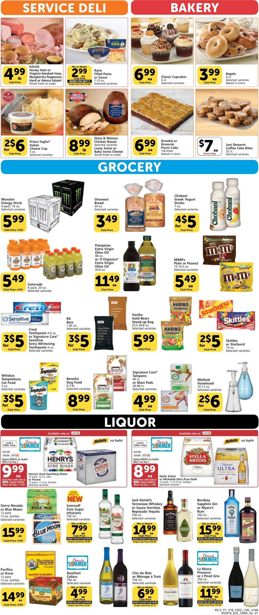 Vons Current weekly ad 05/29 - 06/04/2019 [6] - frequent-ads com