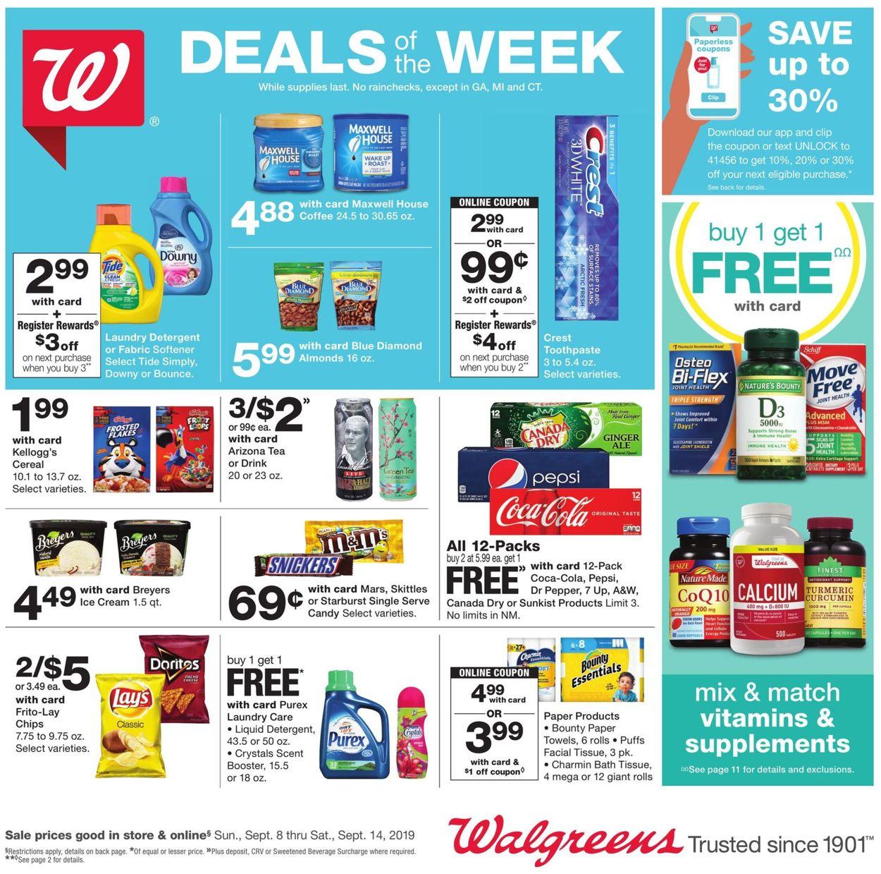 walgreens sales ad this week
