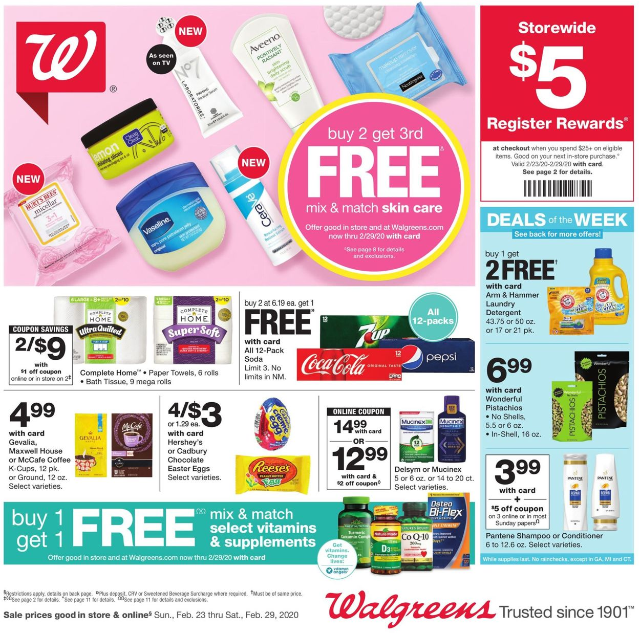 Catalogue Walgreens from 02/23/2020