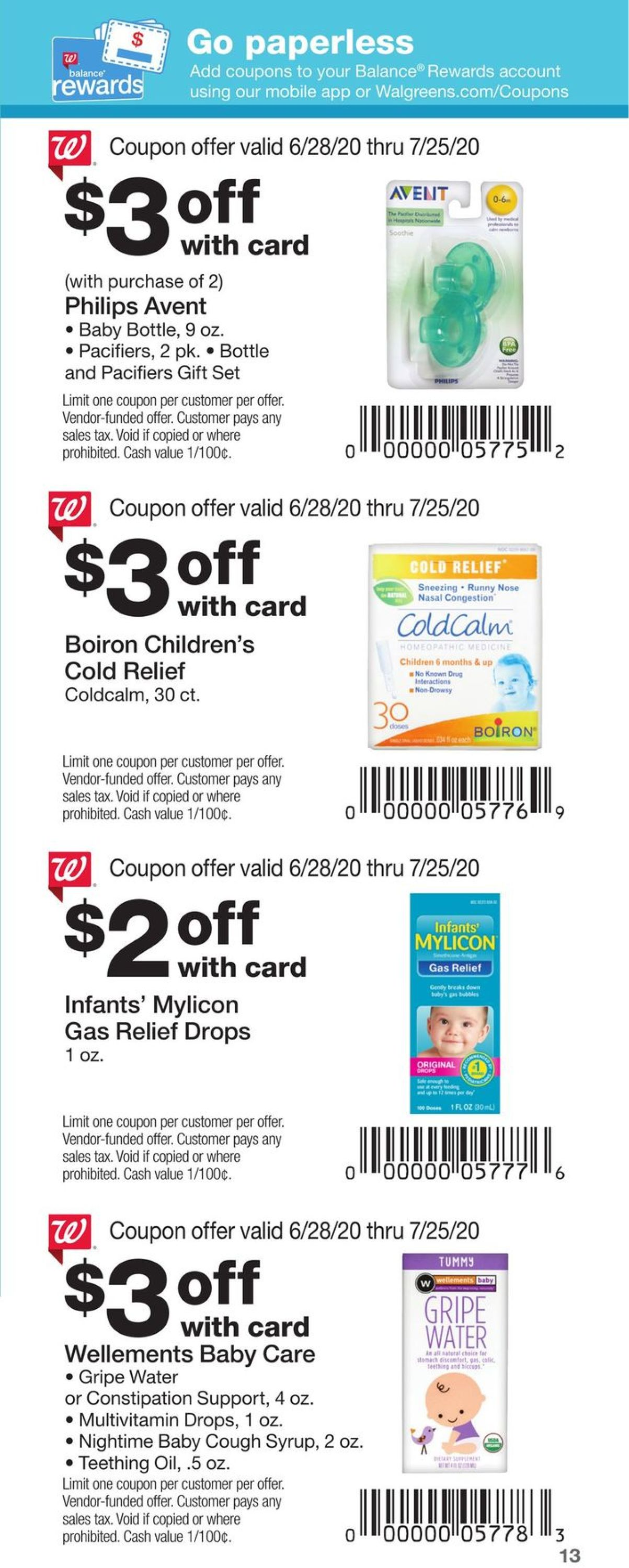 Walgreens Current Weekly Ad 06 28 07 25 2020 13 Frequent Ads Com