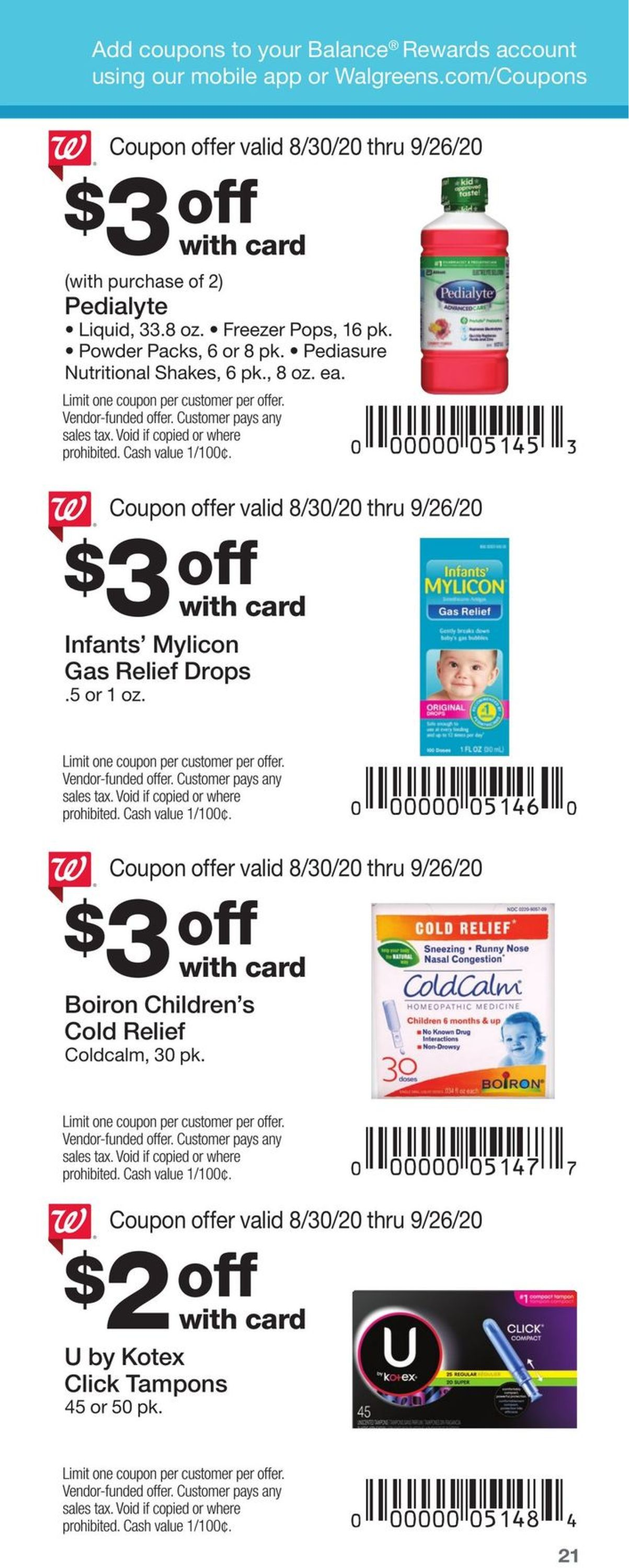 Walgreens Current Weekly Ad 08 30 09 26 2020 21 Frequent Ads Com