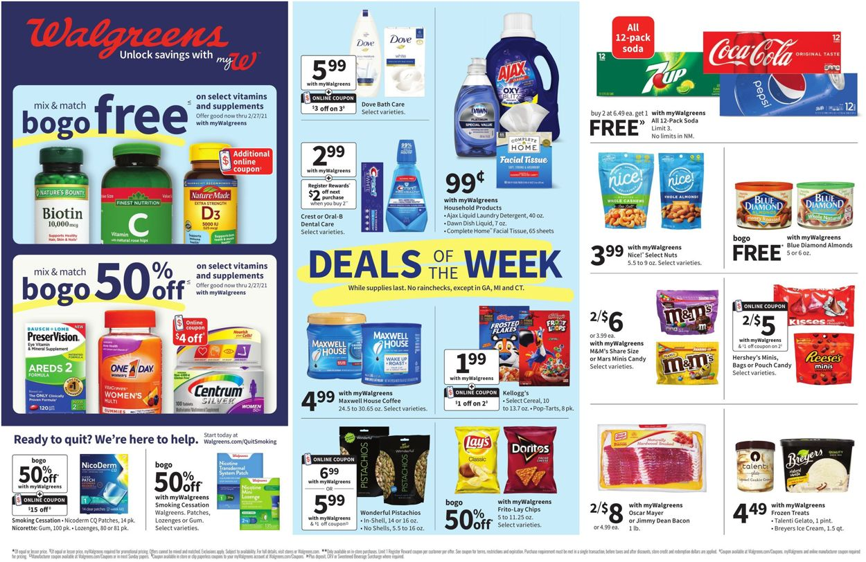 Catalogue Walgreens from 01/17/2021