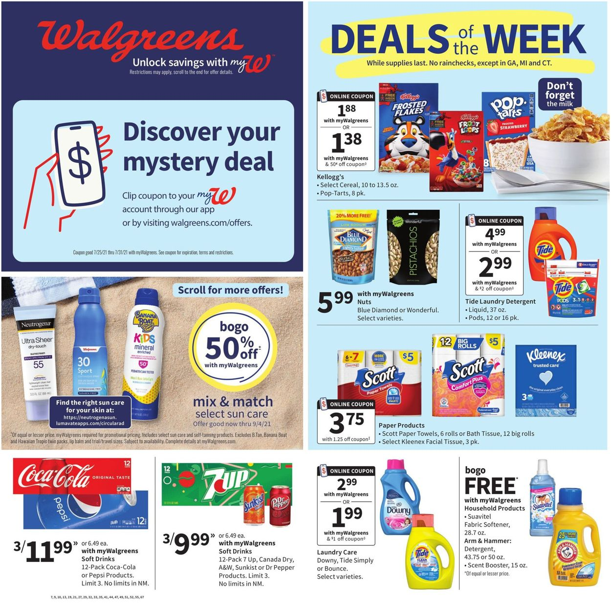 Catalogue Walgreens from 07/25/2021