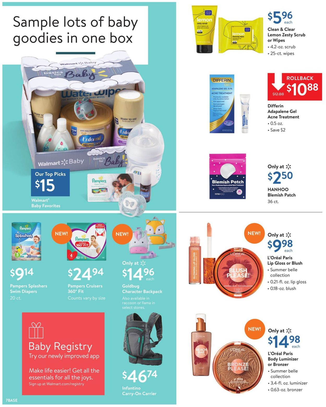 Walmart Current Weekly Ad 07 14 07 25 2019 7 Frequent Ads Com