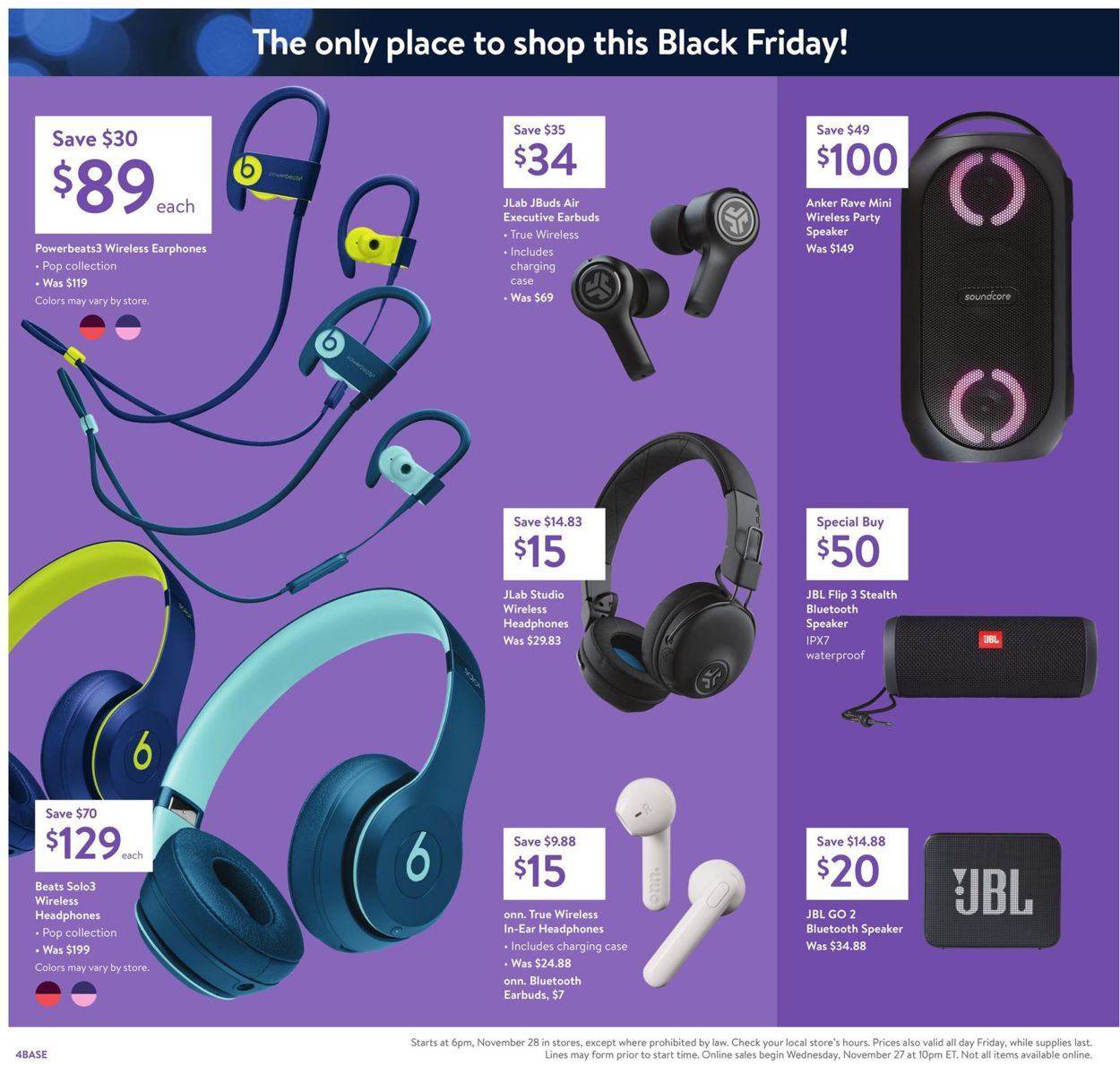 Walmart Black Friday Ad 2019 Current Weekly Ad 11 28 11 29 2019 6 Frequent Ads Com