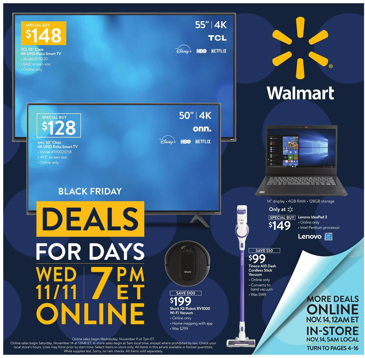 Walmart Black Friday 2020 Current Weekly Ad 11 11 11 20 2020 Frequent Ads Com