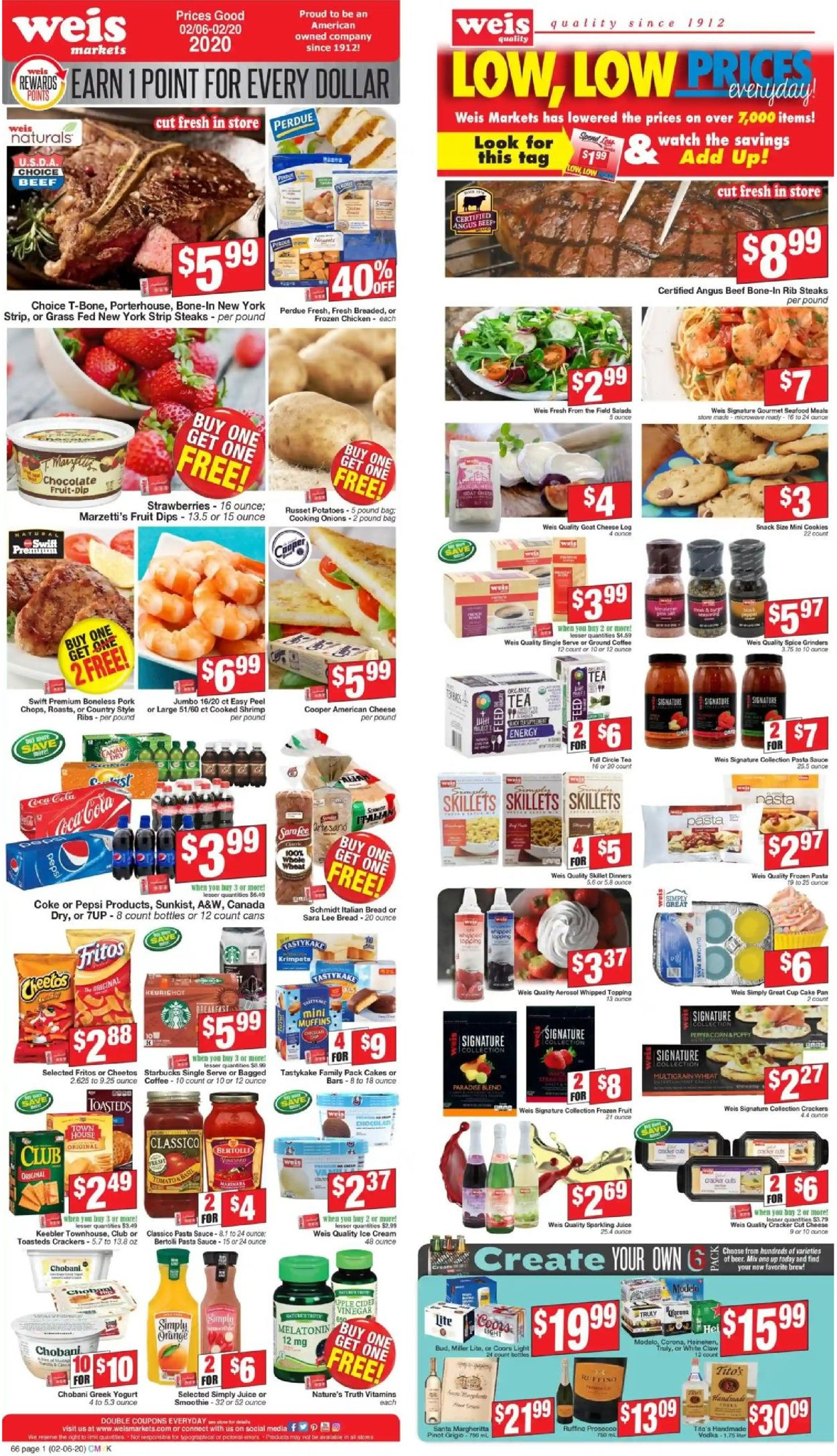 Weis Current Weekly Ad 02 06 02 20 2020 Frequent Ads Com
