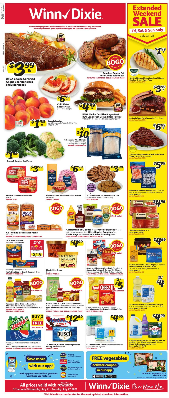 Winn Dixie weekly-ad