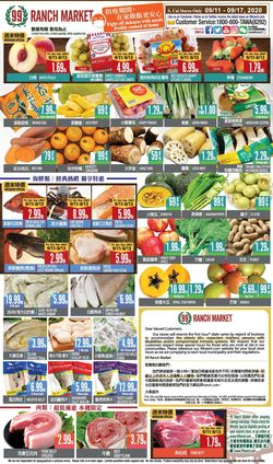 Catalogue 99 Ranch - Weekend Ad from 09/11/2020