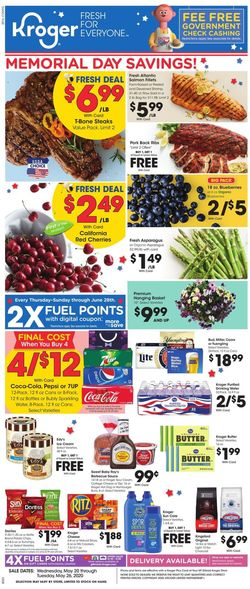 Catalogue Kroger from 05/20/2020