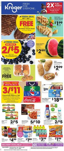 Catalogue Kroger from 07/15/2020