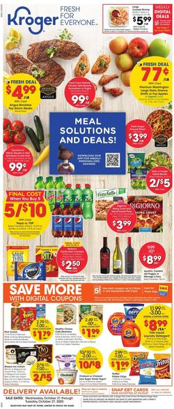 Current weekly ad Kroger