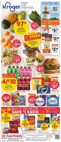 Catalogue Kroger from 07/14/2021
