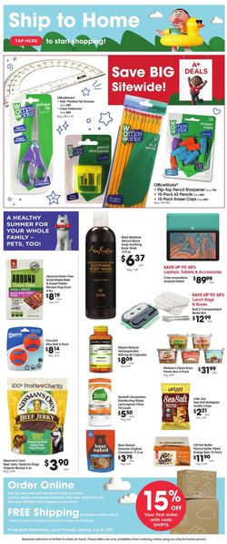 Catalogue Kroger from 07/21/2021