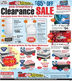 Current weekly ad ABC Warehouse