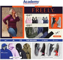 Current weekly ad Academy Sports